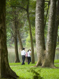 People Walking in Botanic Gardens