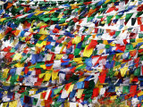 Prayer Flags at Tsangpa Monastery