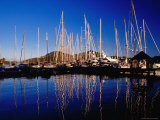Yachts in Marina at Falmouth Harbour