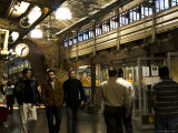 Men Walking Through Chelsea Market  9th Avenue