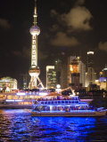 Night Time Cruise Ship on Huang Pu River