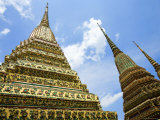 Spires at Wat Po  Ko Ratanakosin