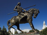 On the War Trail  Statue by Alexander Phimister Proctor  Civic Center