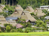 Thatched Roof Houses in the Village of Miyama  also known as Kita  or Kyabuki-No-Sato