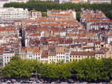 City Rooftops from Fourviere Hill