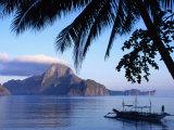 Cadlao Island from El Nido  Sunrise