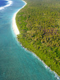 Aerial of Weather Coast of Lifuka Island