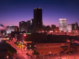Oklahoma City Skyline from Bricktown District