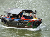 Tourist Boat on Singapore River