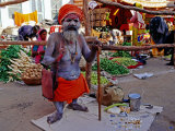 Sadhu at Pushkar Mela