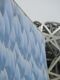 Detail of National Swimming Centre  Olympic Park