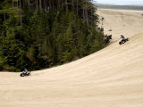 4X4 ATV Racing on Sand Dunes of Oregon Dunes Nra  Honeyman State Park