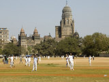 Cricket Match at Azad Maidans in Fort