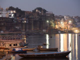 Dusk Descends over Ganges River