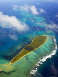 Aerial of Reefs and Islands in Ha&#39;apai Group