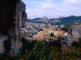 View of Hilltop Village of Les Baux-De-Provence Which Gives its Name to Bauxite  Once Mined Here