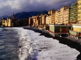 Buildings Along the Camogli Foreshore