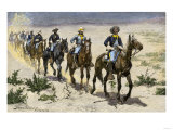 Buffalo Soldiers in the Arizona Desert