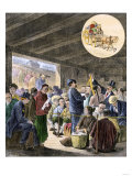 Chinese Immigrants at the San Francisco Custom-Hoouse  1870s