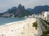 Ipanema Beach from Hotel Fasano Rooftop