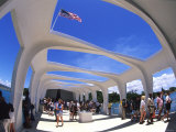 Visitors Inside the Uss Arizona Memorial
