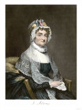 Abigail Adams  with Her Autograph