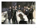First Public Demonstration of Surgical Anesthesia  Massachusetts General Hospital  Boston  1846