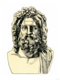 Roman Jupiter  or Zeus in Greek Mythology  God of the Sky and of Laws