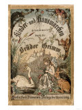 Cover of Brothers&#39; Grimm Tales from a German Edition Published in Berlin  1865