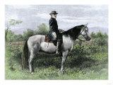 Confederate General Robert E Lee on His Favorite War-Horse  Traveler