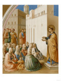 The Preaching of Saint Stephen in Jerusalem