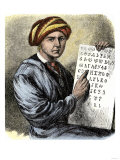Sequoya Holding His Cherokee Alphabet