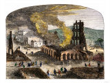 Confederate Quantrill Raid Burns Lawrence  Kansas  1863
