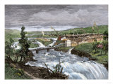 Spokane Falls before the Great Fire  Washington Territory  1880s