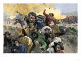 Massacre of Chinese Immigrants at Rock Springs  Wyoming  1885