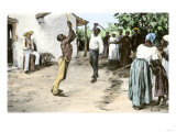 Brutal Whipping of a Slave on a Plantation  from an Eyewitness Account in Virginia