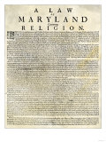 Religious Toleration Act of Colonial Maryland  1649