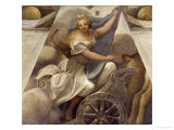 Diana on Her Chariot