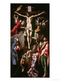 Christ Crucified with the Virgin  Mary Magdalene  Saint John the Evangelist and Angels