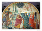 Scenes from the Life of Saint Joachim: Meeting at the Golden Gate