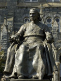 Statue of John Carroll  Founder of Georgetown University  Washington DC