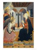 Annunciation with Saint Julian