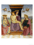 Pieta with Saints John and Mary Magdalene