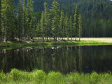 Glacial Lake in the Pecos Wilderness  Sangre De Cristo Mountains  New Mexico