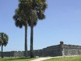Castillo San Marcos  Spanish Colonial Fort in Saint Augustine  Florida