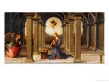 Durante Altarpiece: Predella with the Annunciation