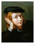 Portrait of a Young Blond Boy