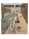 John Bull  Cricket Dogs Disasters Balls Magazine  UK  1950