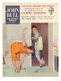 John Bull  Exercise Bathrooms Magazine  UK  1950
