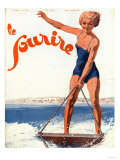 Le Sourire  Water Ski Magazine  France  1932